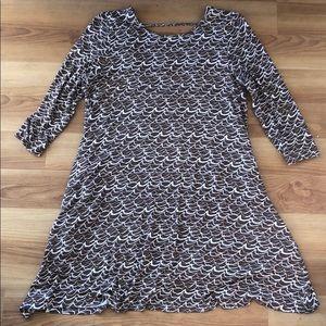 Ava Sky 3/4 sleeve dress, M